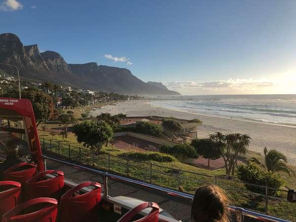plaża w Kapsztadzie